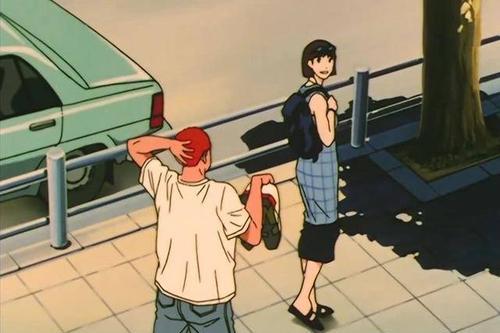 """灌篮高手若晴子或彩子是带回家的女友会如何?彩子成为""""大杀器"""""""