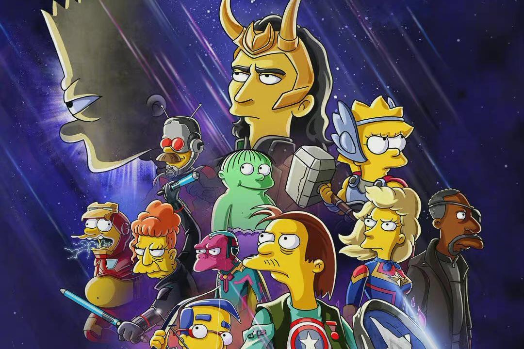 漫威与辛普森梦幻联动!这次又是洛基做主角,钢铁侠还胖成一坨球
