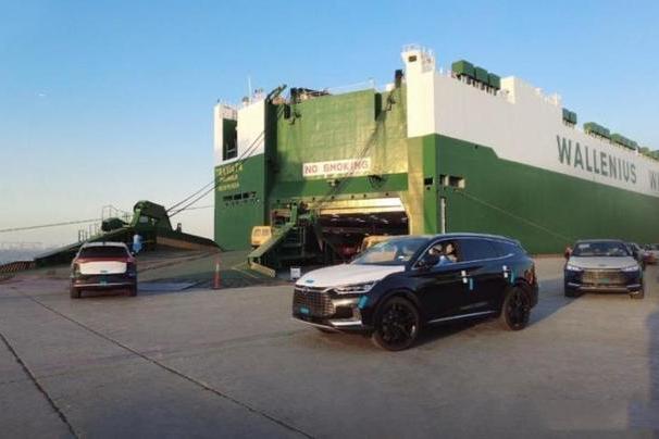 比亚迪唐EV上船进发挪威,价格推高20万