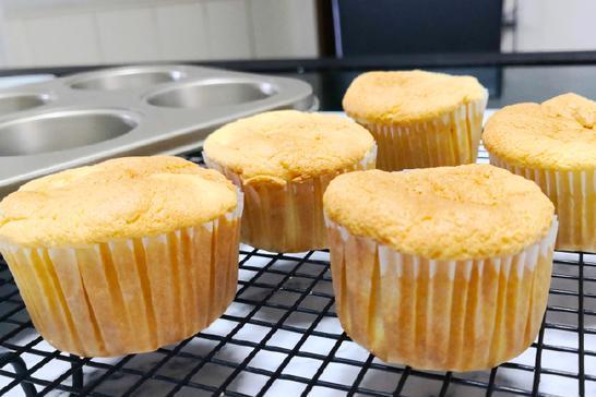 会拉丝的肉松小蛋糕:营养美味人见人爱,制作简单一看就会!