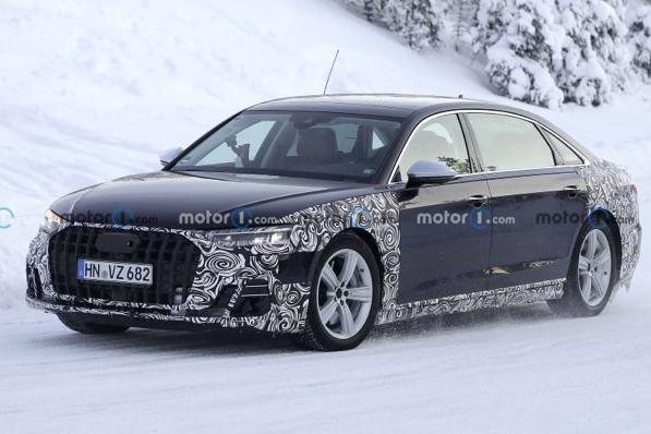 新款奥迪A8 11月2日亮相,4.0T V8引擎,还有Horch长轴距版
