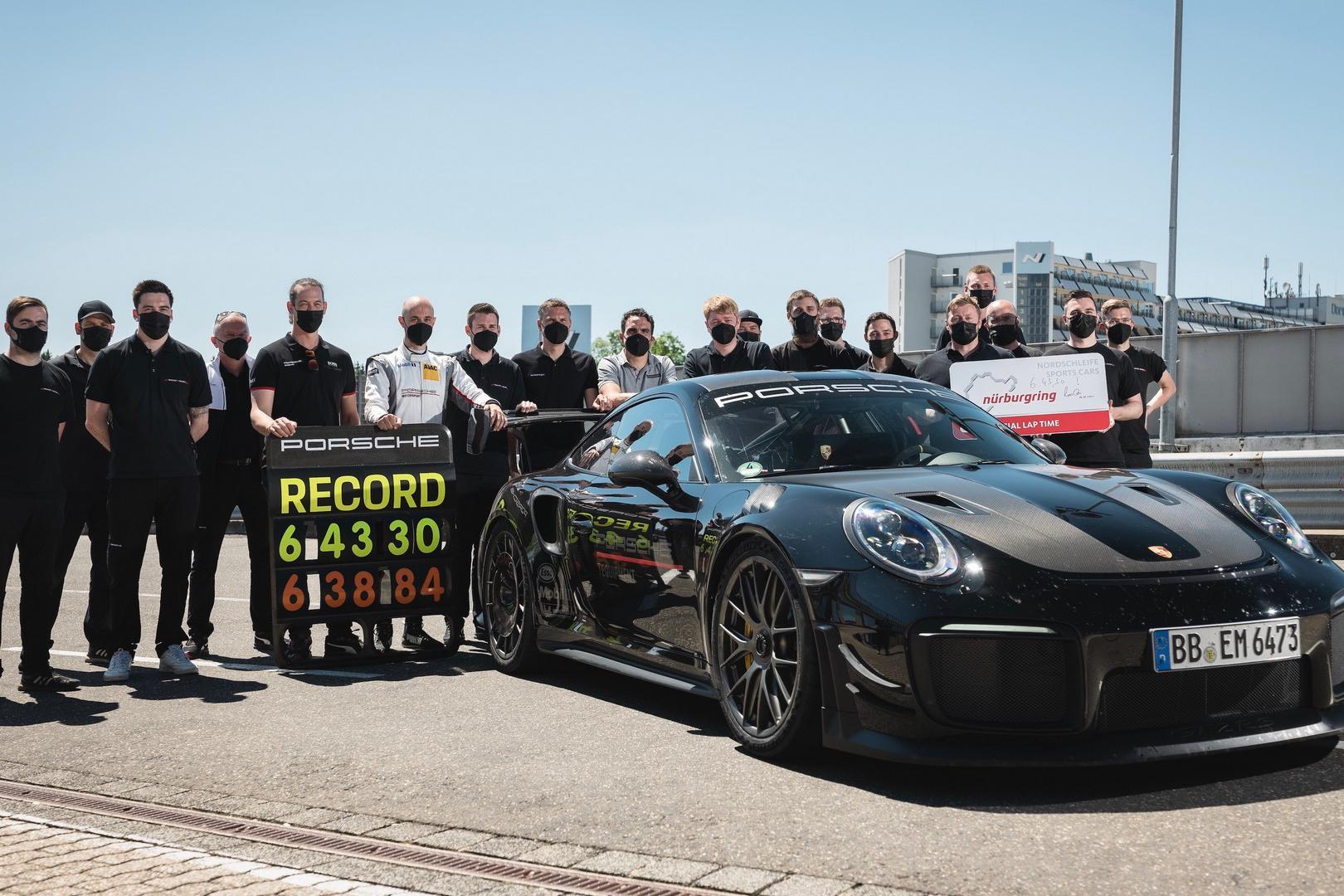 这是真的强,保时捷GT2RS创造新的纽北单圈记录