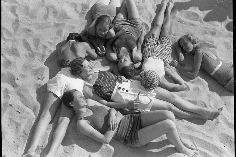 老照片 三四十年代的丹麦  普通老百姓的生活
