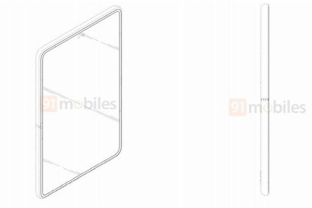 三星公布新型翻盖折叠屏手机专利,新增副屏,后置竖列三摄