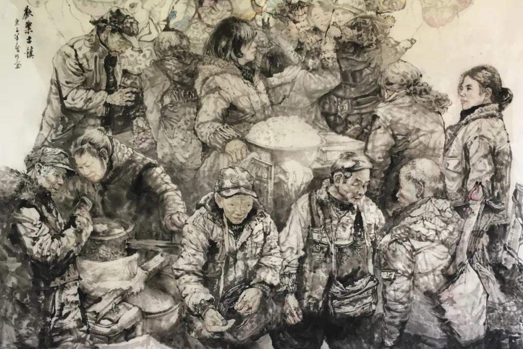 江西美术家胡黎明,四大特点彰显艺术成就