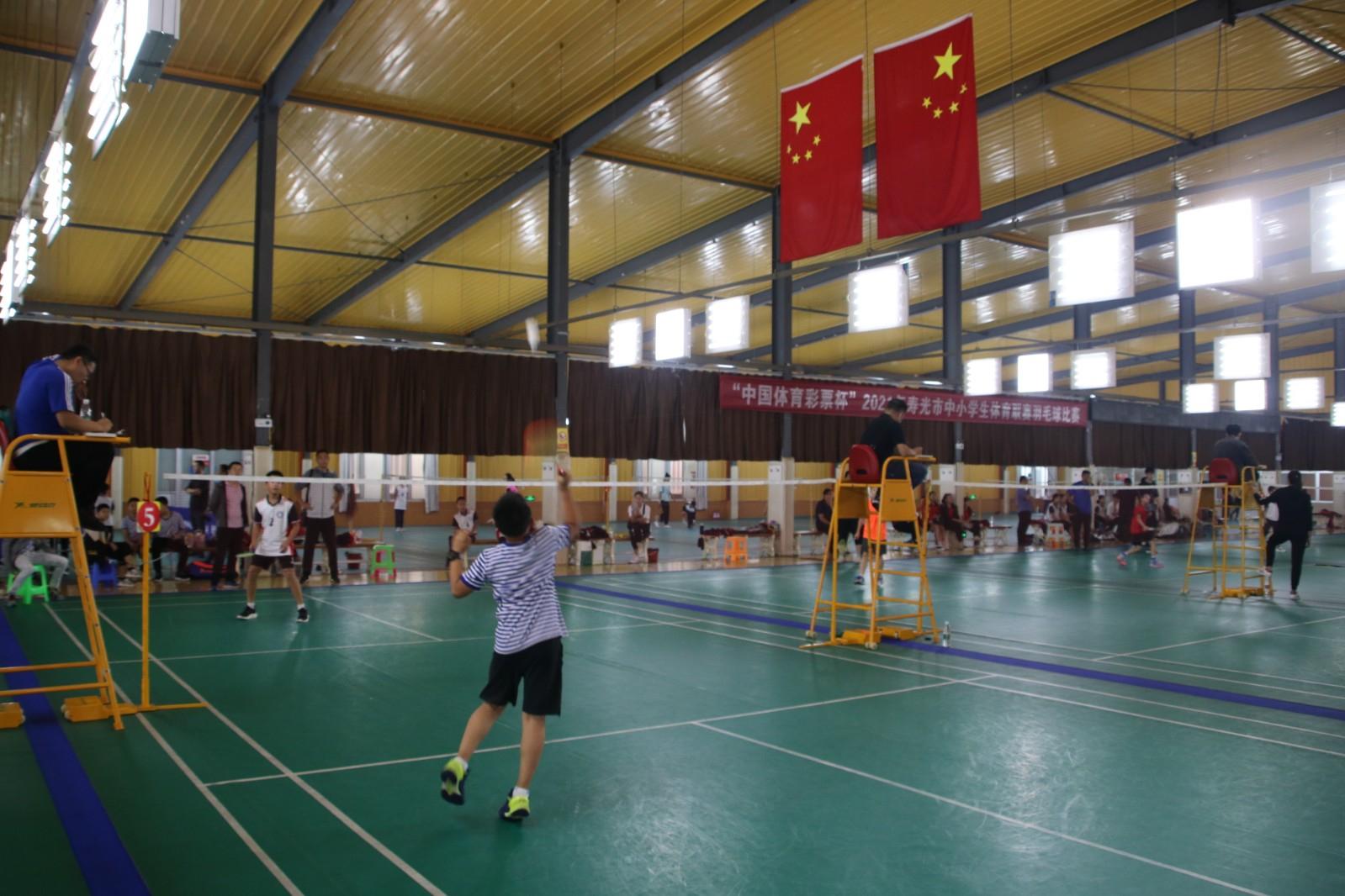 2021年度寿光市中小学生体育联赛羽毛球、乒乓球比赛成功举办