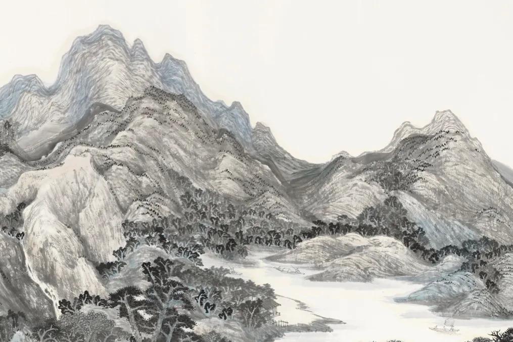 画家温骧:笔墨山河,天人合一丨私享艺术