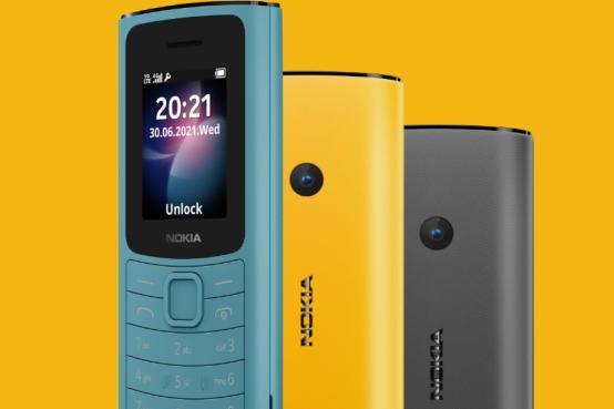 诺基亚发布Nokia 110/105按键机:定位市场低价4G