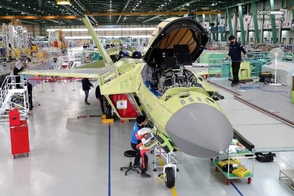 不算中国FC-31的话,韩国KF-X进度最快