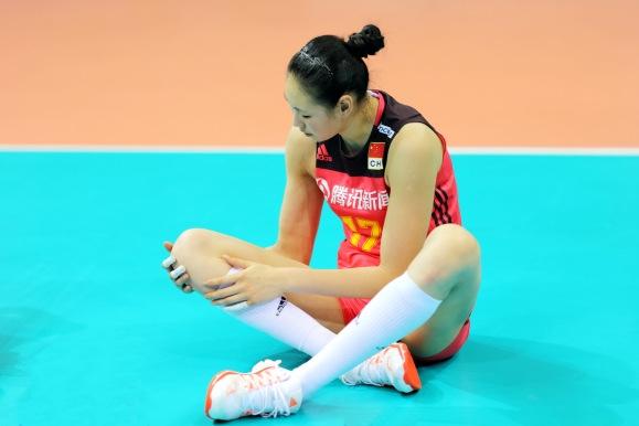这是颜妮最后一场世界女排联赛