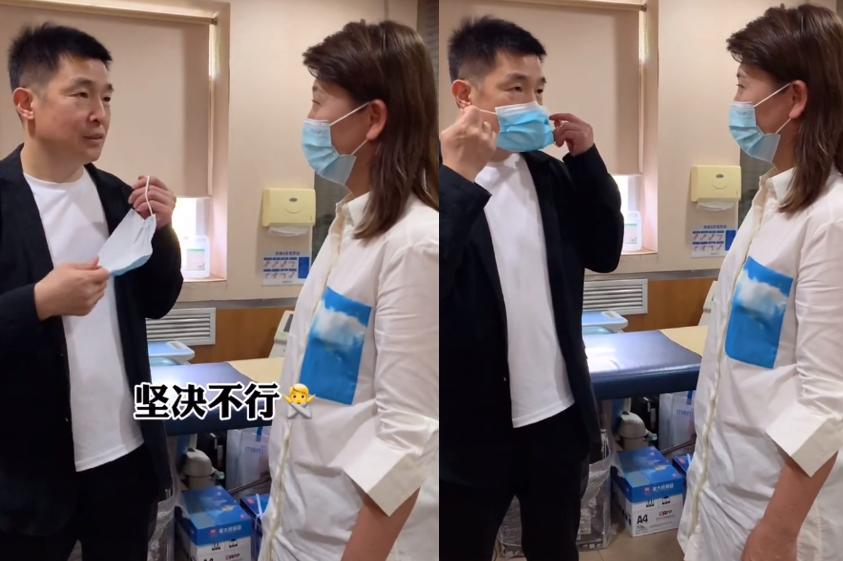 49岁闫学晶被劝做医疗美容!露一截胳膊显粗壮,摇头称坚决不打针