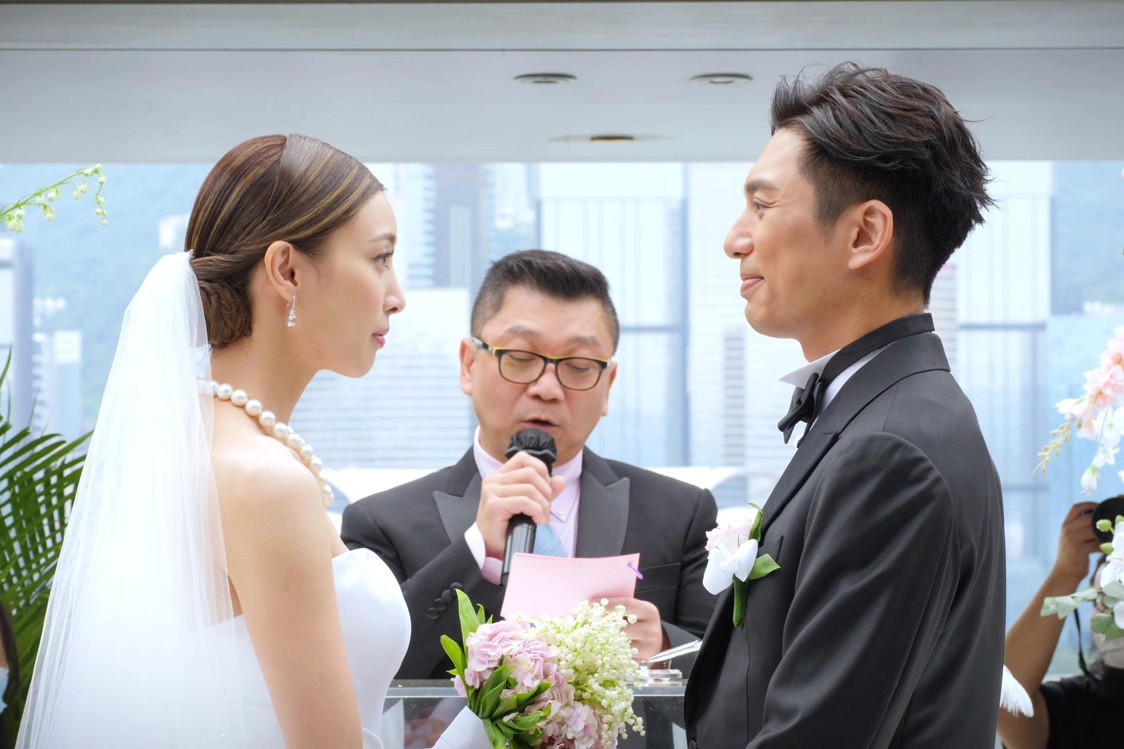 陈法拉前夫薛世恒正式迎娶圈外女友,半岛酒店举行奢华婚礼