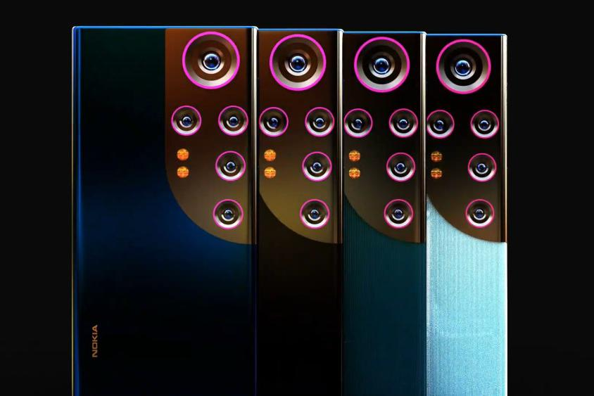 诺基亚之光!大眼五摄颠覆传统设计!N73 Pro 概念机曝光!