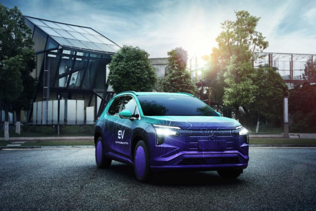 重庆车展新能源新车盘点,三菱首款纯电动SUV来了