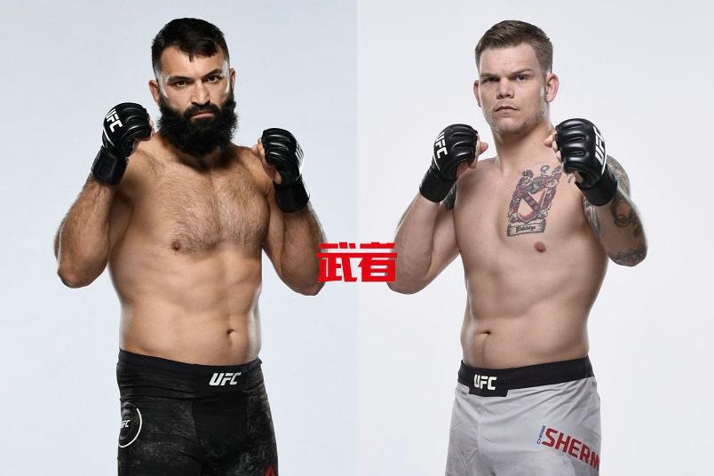 UFC on ESPN 22:安德烈·阿洛夫斯基vs蔡斯·舍曼