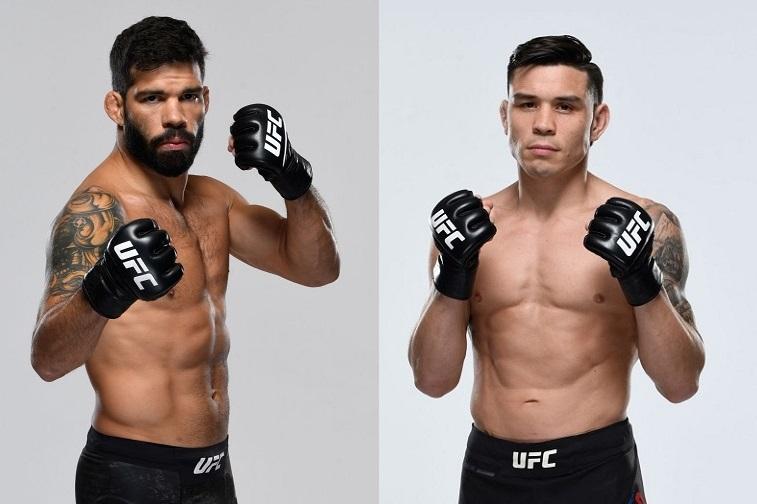 12月18日UFC:拉斐尔·阿松桑vs瑞奇·西蒙