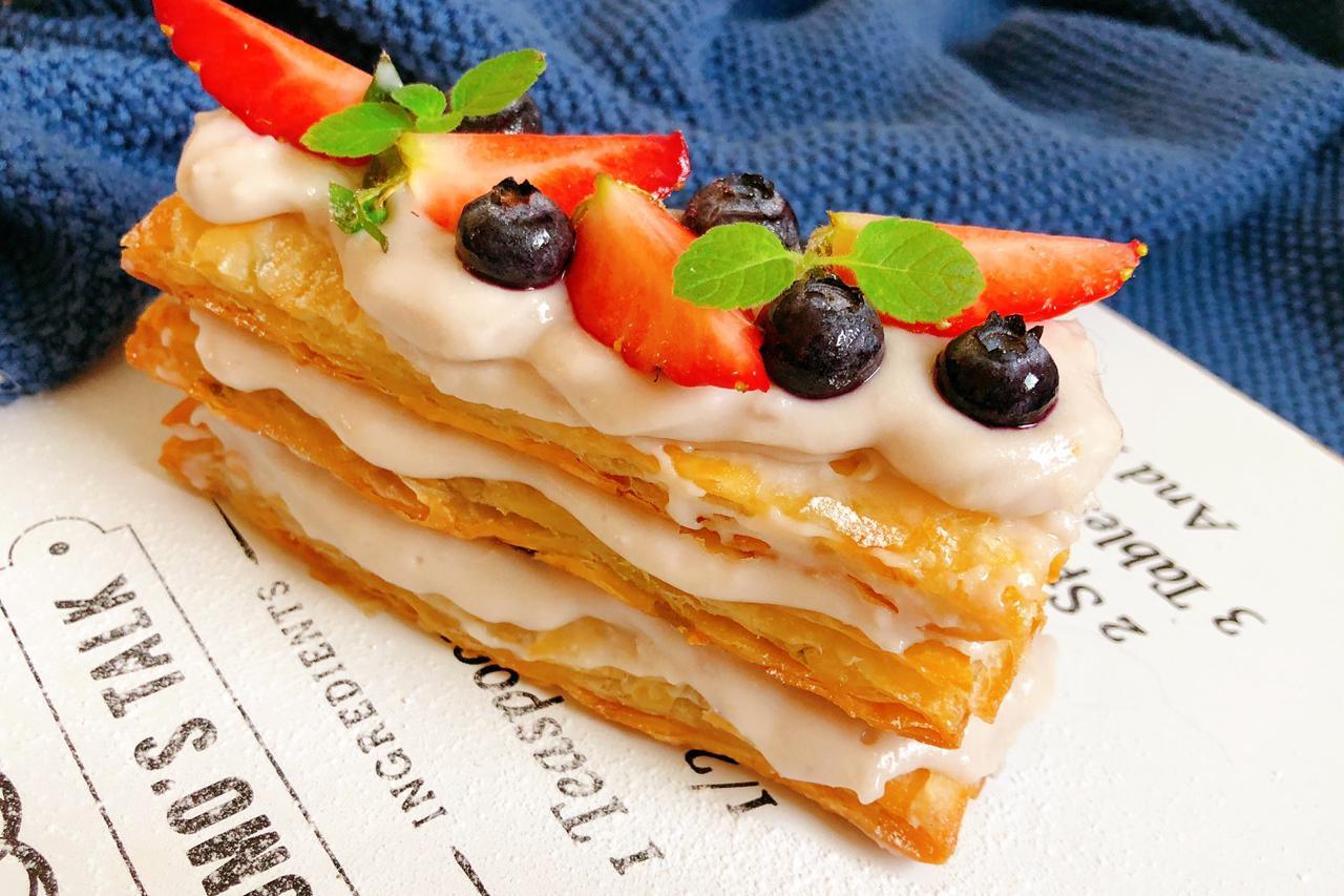 懒人必学的拿破仑酥,只需手抓饼,简单还好吃,轻轻松松就能学会