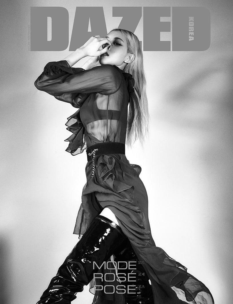 BLACKPINK朴彩英新写真公开 谈声音特点以及对时尚的看法