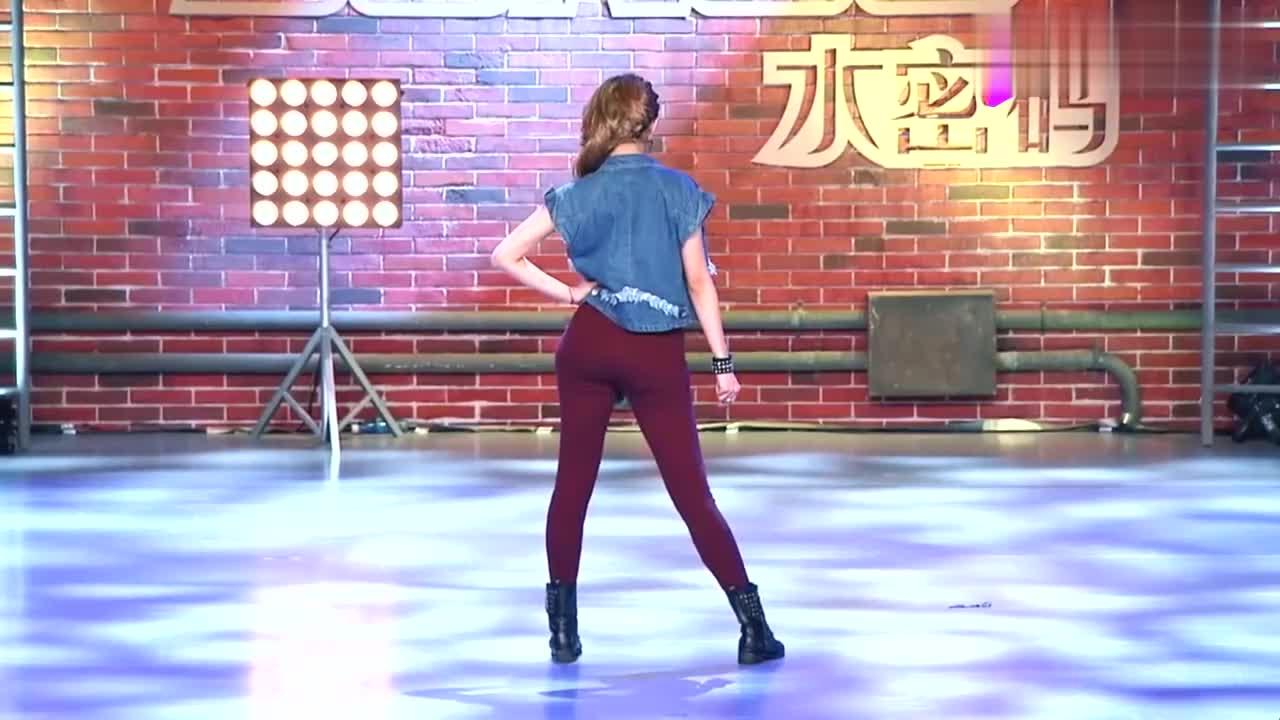 中国好舞蹈:高个女孩上好舞蹈,跳火辣劲舞,逗乐金星