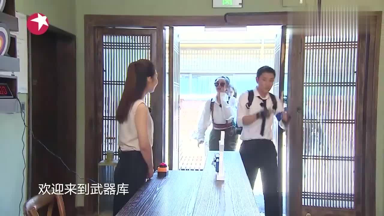 """极限挑战:许佳琪变身""""人体电风扇"""",超强马力完成大象鼻子转圈"""