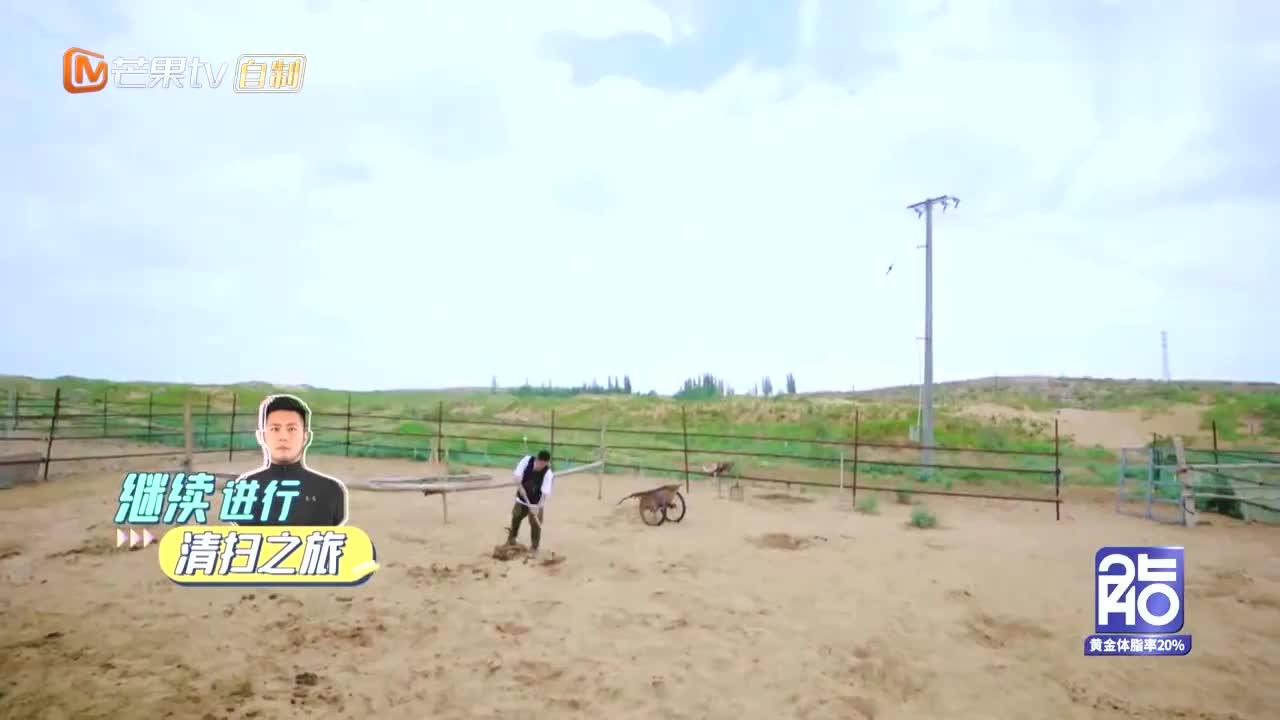 赵奕欢带李伯恩扫粪,看到两亩骆驼圈后,李伯恩:我在哪我是谁!