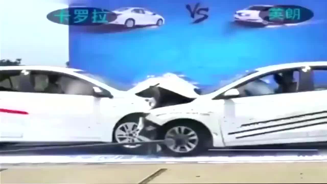 视频:别克英朗和卡罗拉对撞测试,谁说日系车皮薄不安全