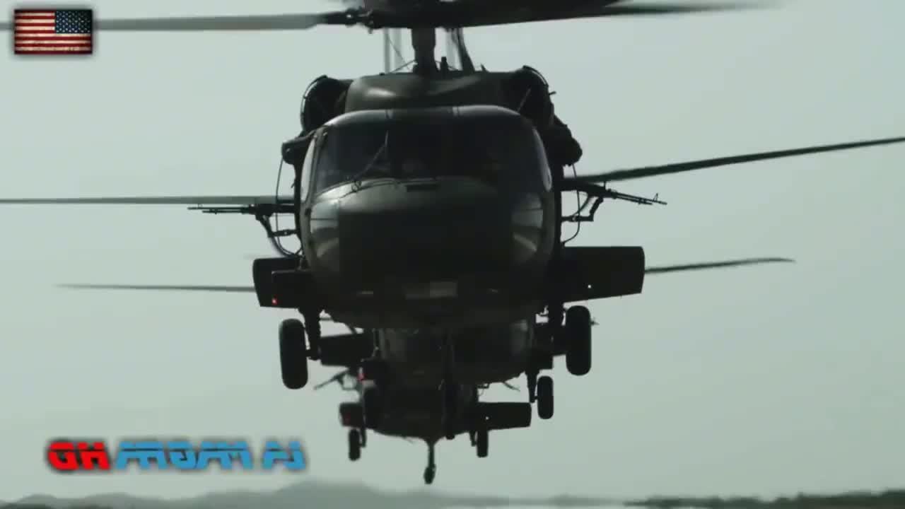 美军黑鹰多用途直升机宣传亮点