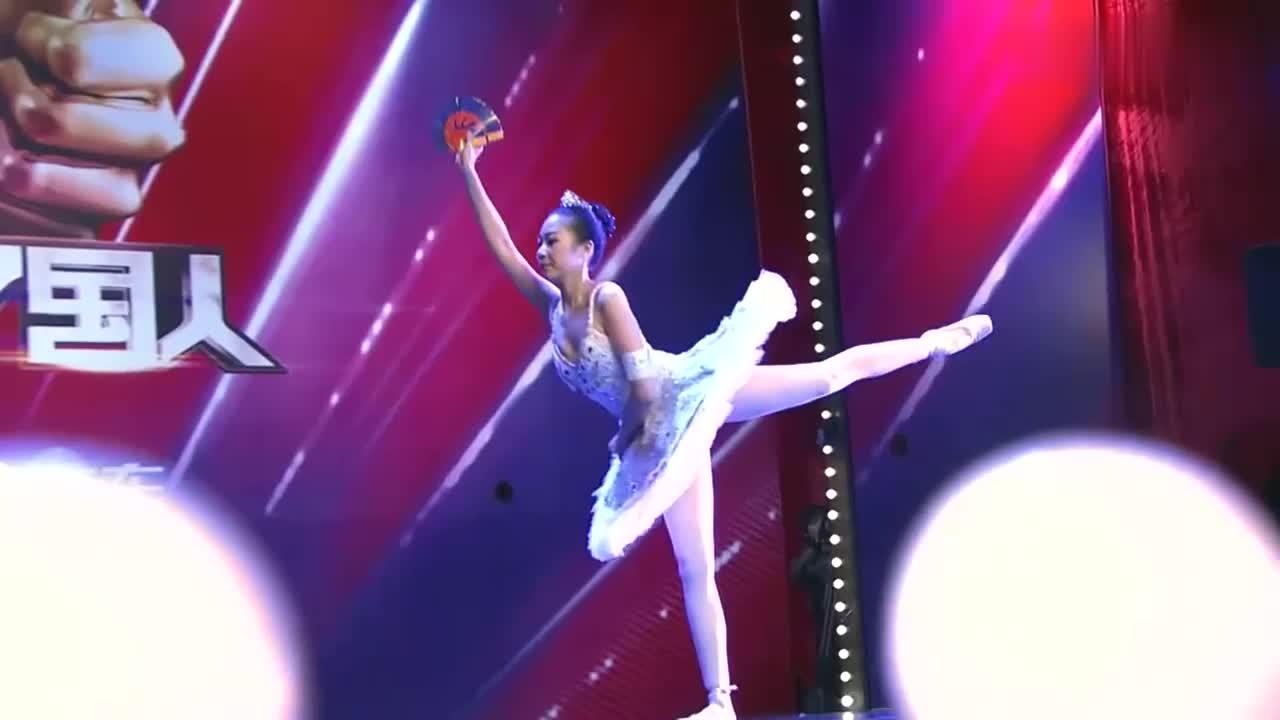 出彩中国人:大连女孩出彩舞台,创意梦幻芭蕾表演,蔡明称很难