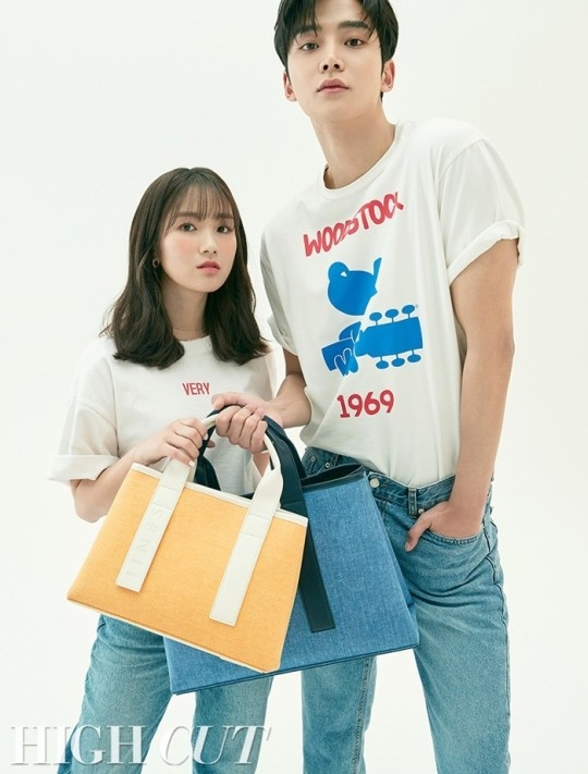 SF9金路云&金惠允公开绝配写真 与电视剧不同的魅力
