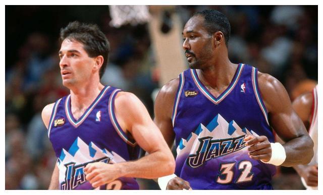 NBA无冕之王最佳阵容:爵士二老注定悲催,小前锋8亚比老詹更惨