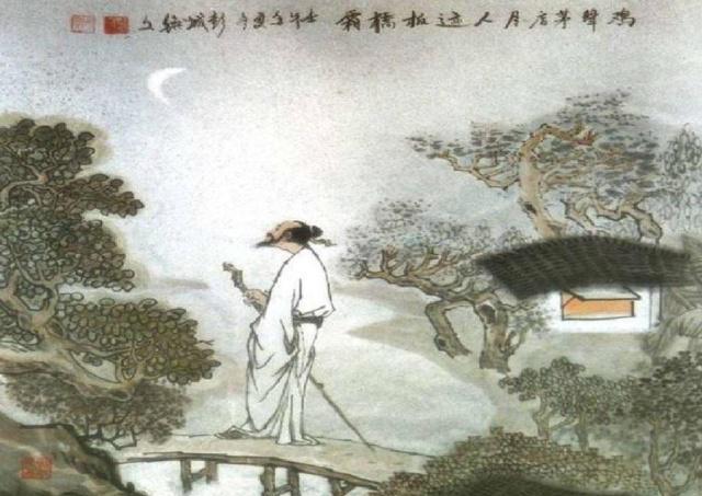 温庭筠48岁忍受羁旅之苦,一首古诗中10字唐诗成为其代表