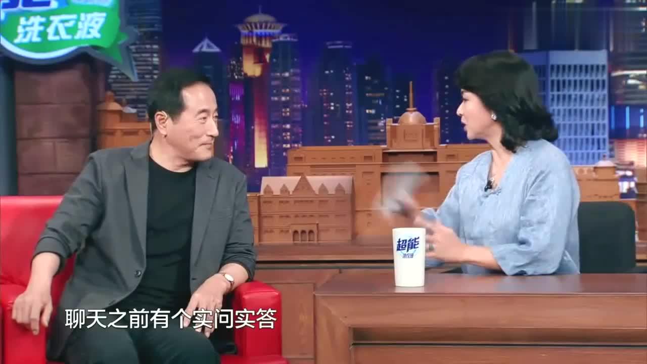 金星时间:著名演员杨立新称儿子帅,杨玏称老爸更帅