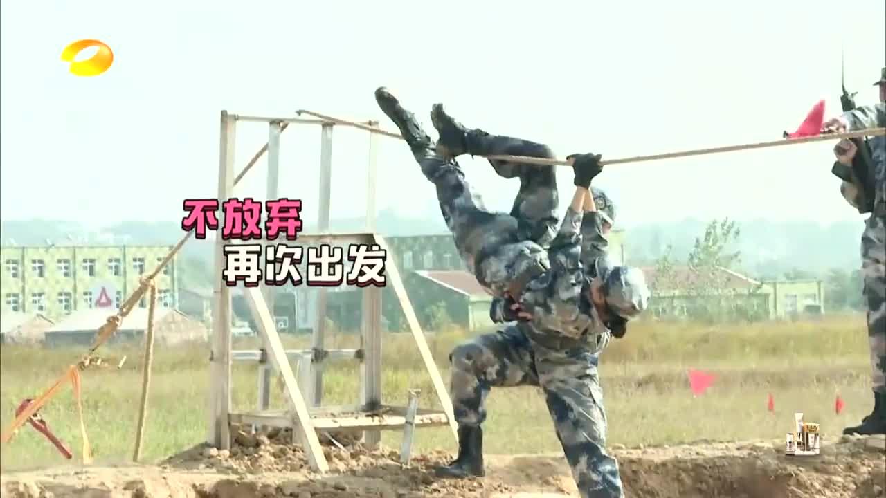 蒋劲夫化身暖男,从身下扶着佟丽娅完成任务,感动得不要不要的!