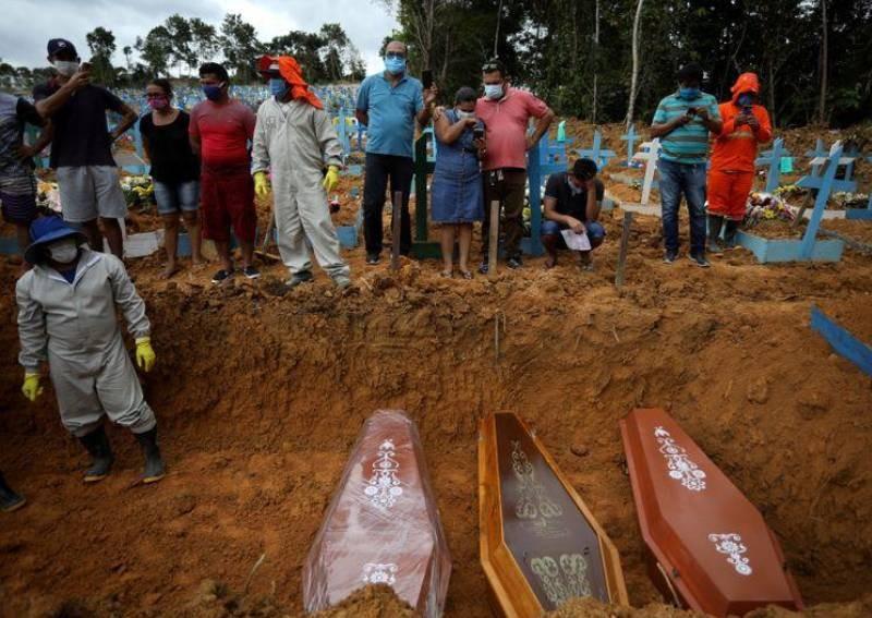 世卫组织:随着拉丁美洲死亡人数激增美洲成为新型冠状病毒疫情震中