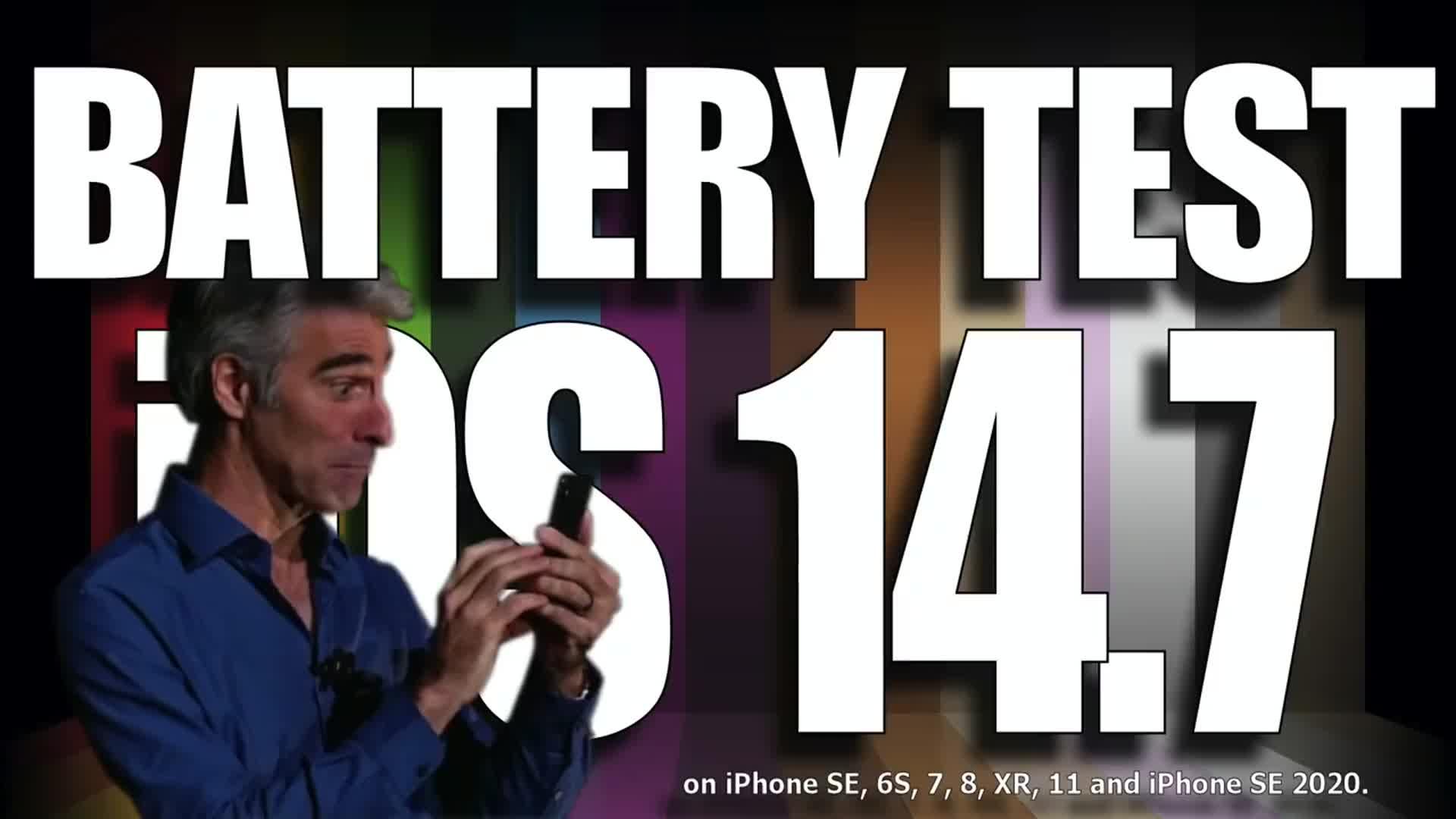 iOS 14.7 正式版续航测试iphone se 6 7 8 XR 11 2020