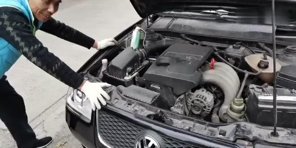 视频:尾气宝施工视频之:桑塔纳4000pick汽车合伙人 抖音汽车 积碳