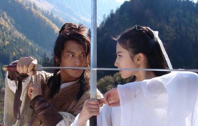 06版《神雕侠侣》幕后照,黄晓明