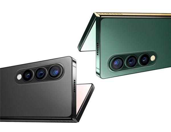 三星Galaxy Z Fold 3渲染图曝光:完美照搬iPhone 12的直角设计