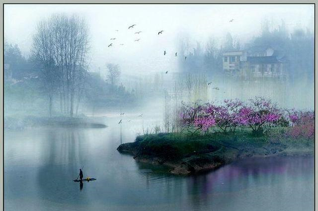"""这个诗人名气一般,但是诗句""""海日生残夜,江春入旧年"""""""
