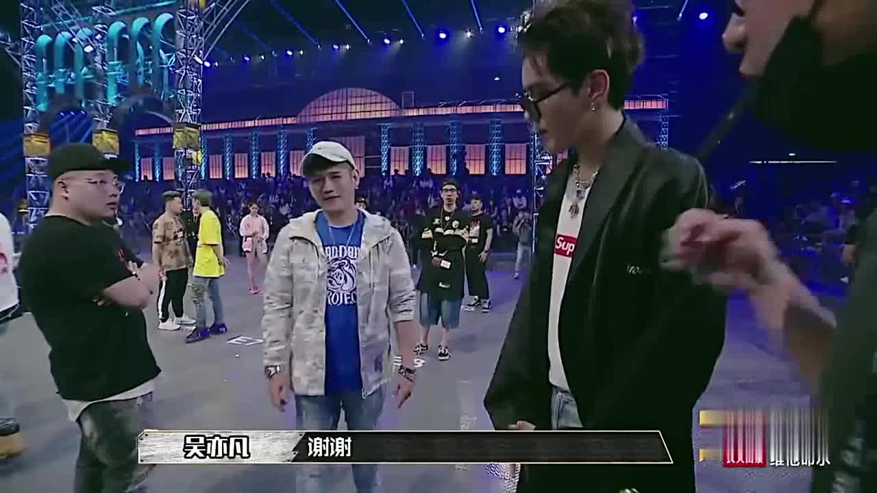 中国有嘻哈:没音的情况下,拍子是否稳,是吴亦凡评判的标准