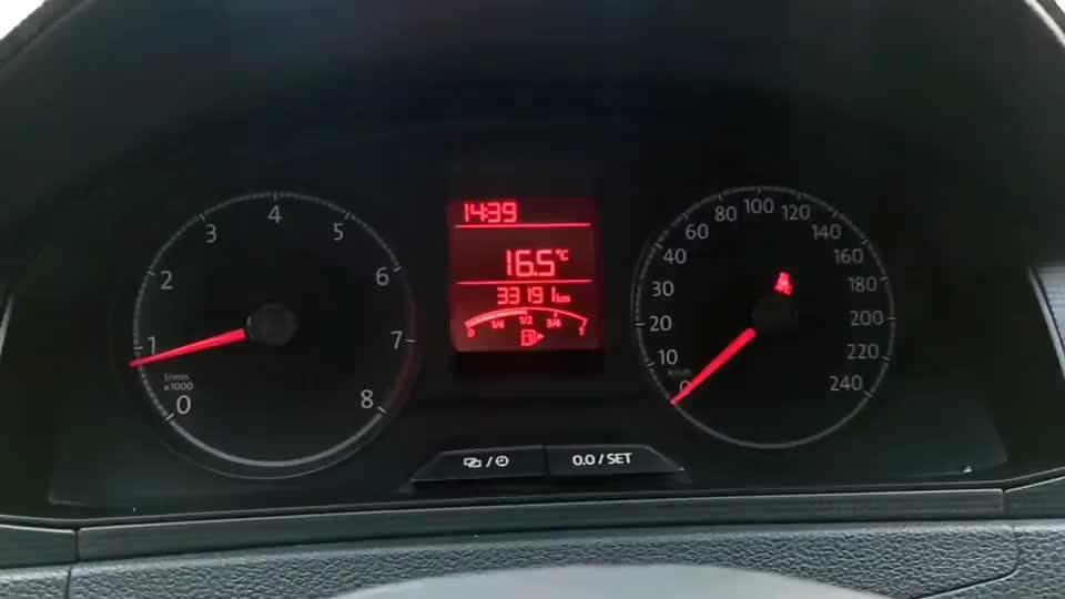 新桑塔纳三年,三万公里,减配严重?发动机就这样了?