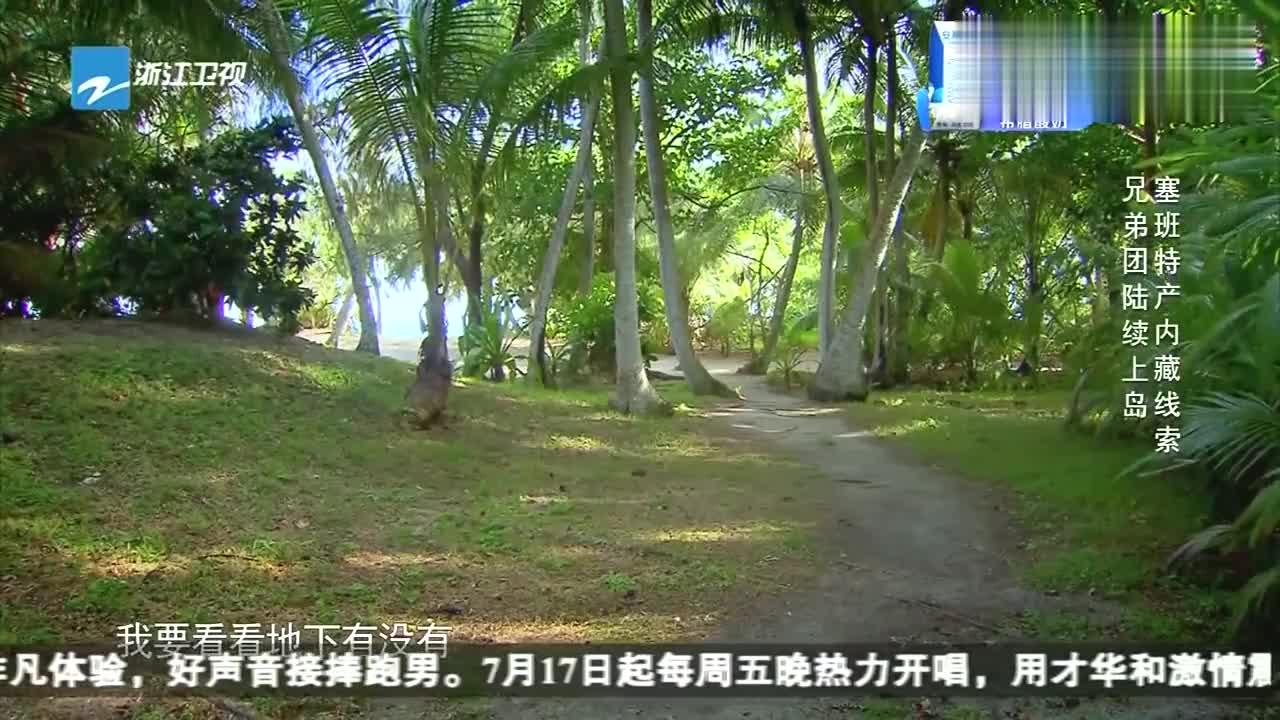 王祖蓝找到了带有线索的草裙,竟把它当成了扫帚,笑得我岔气了!
