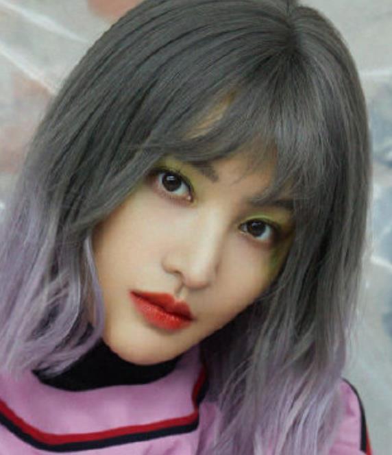 """有种""""整容""""叫郑爽染灰紫发,鬼马模样美出新高,张翰看了得后悔"""