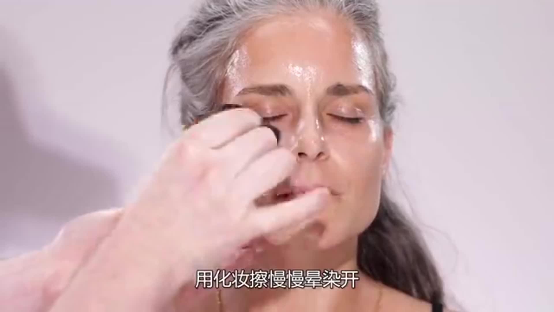 化妆师改造中年女人,瞬间变成女神,年轻了20岁不止!