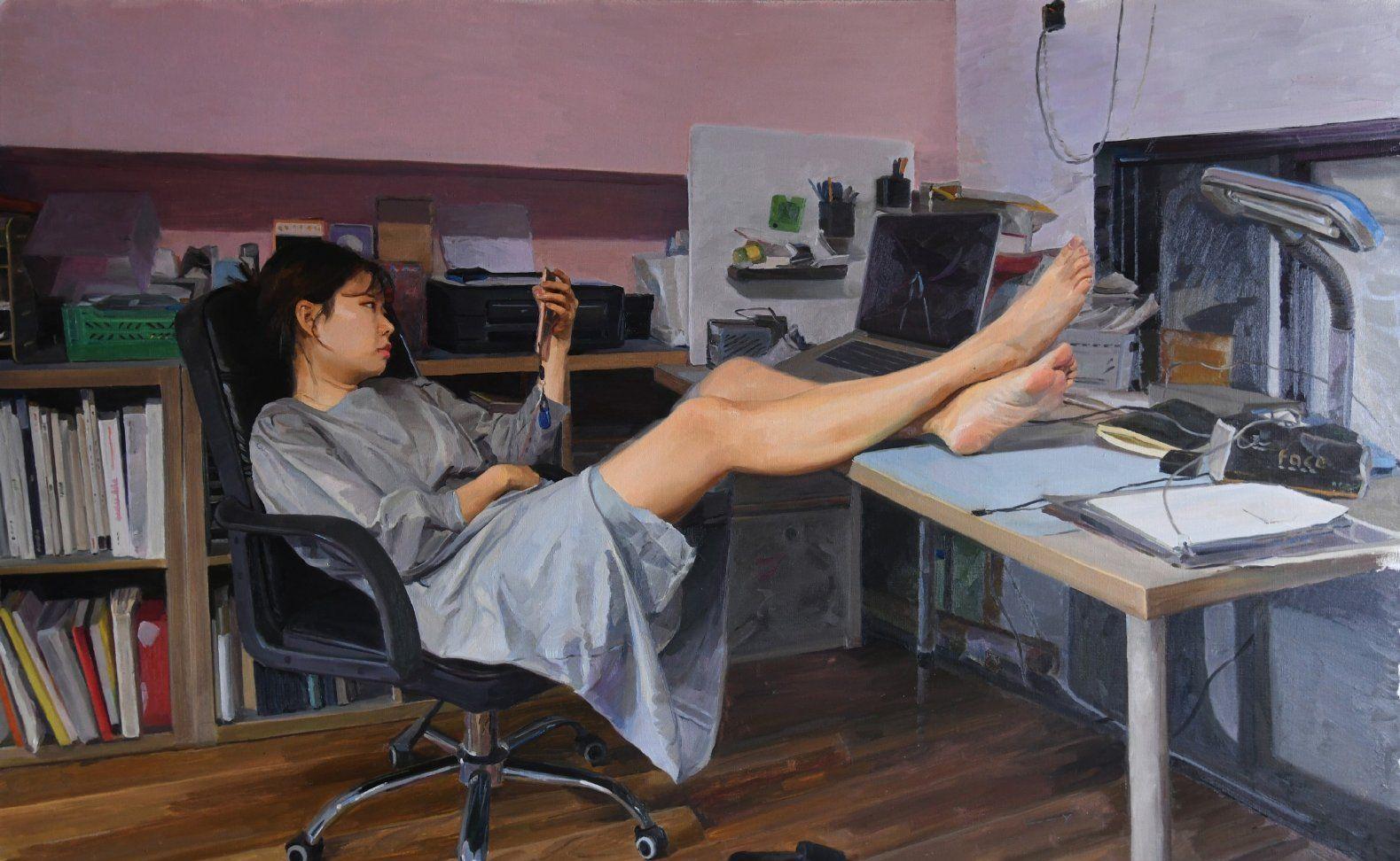 意幻,生活、梦想、追求之毕业季油画作品展