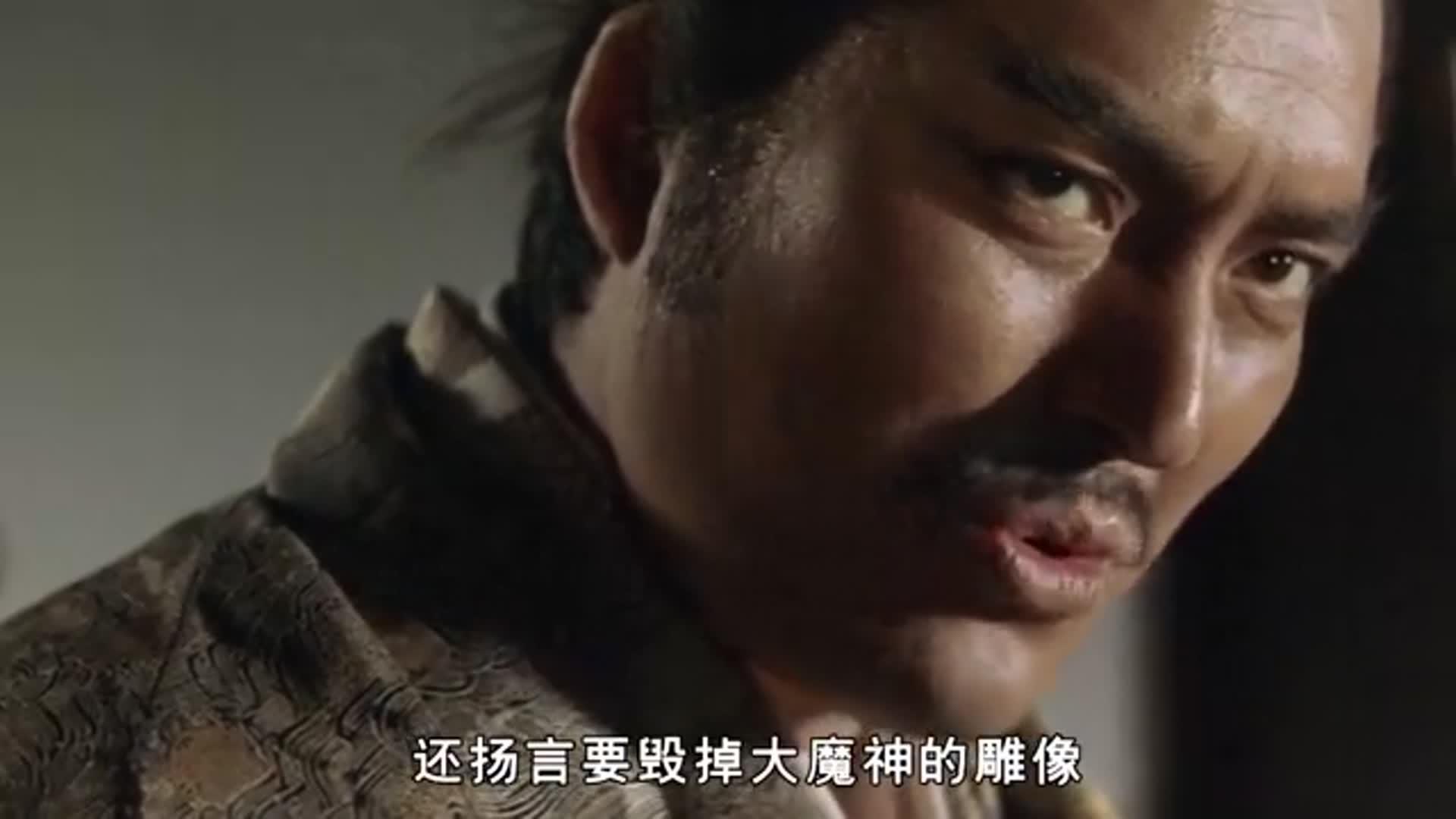 奇幻片:美人的眼泪就连神魔也受不了,日本的特摄电影《大魔神》