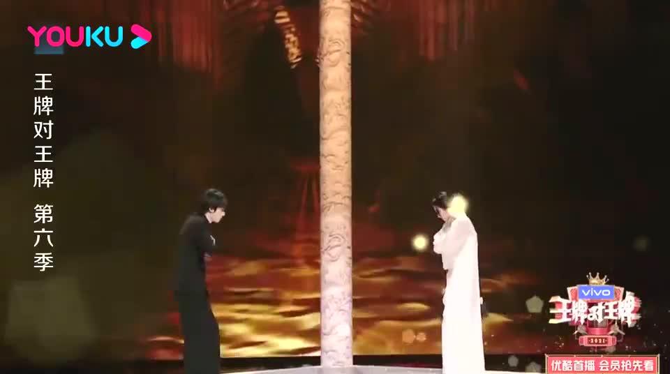 王牌对王牌:关晓彤宋亚轩神仙对唱《美丽的神话》,太动听了
