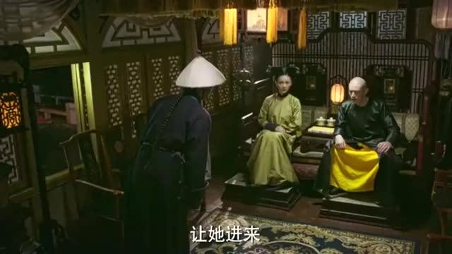如懿传:莲心禀告皇帝皇后心腹记挂宫外老母,不太可能会去殉主