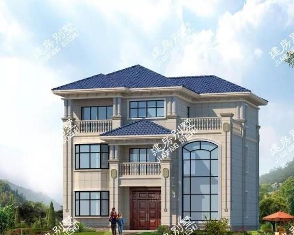 两栋面宽11米多的农村自建房,好户型大家都是抢着建的