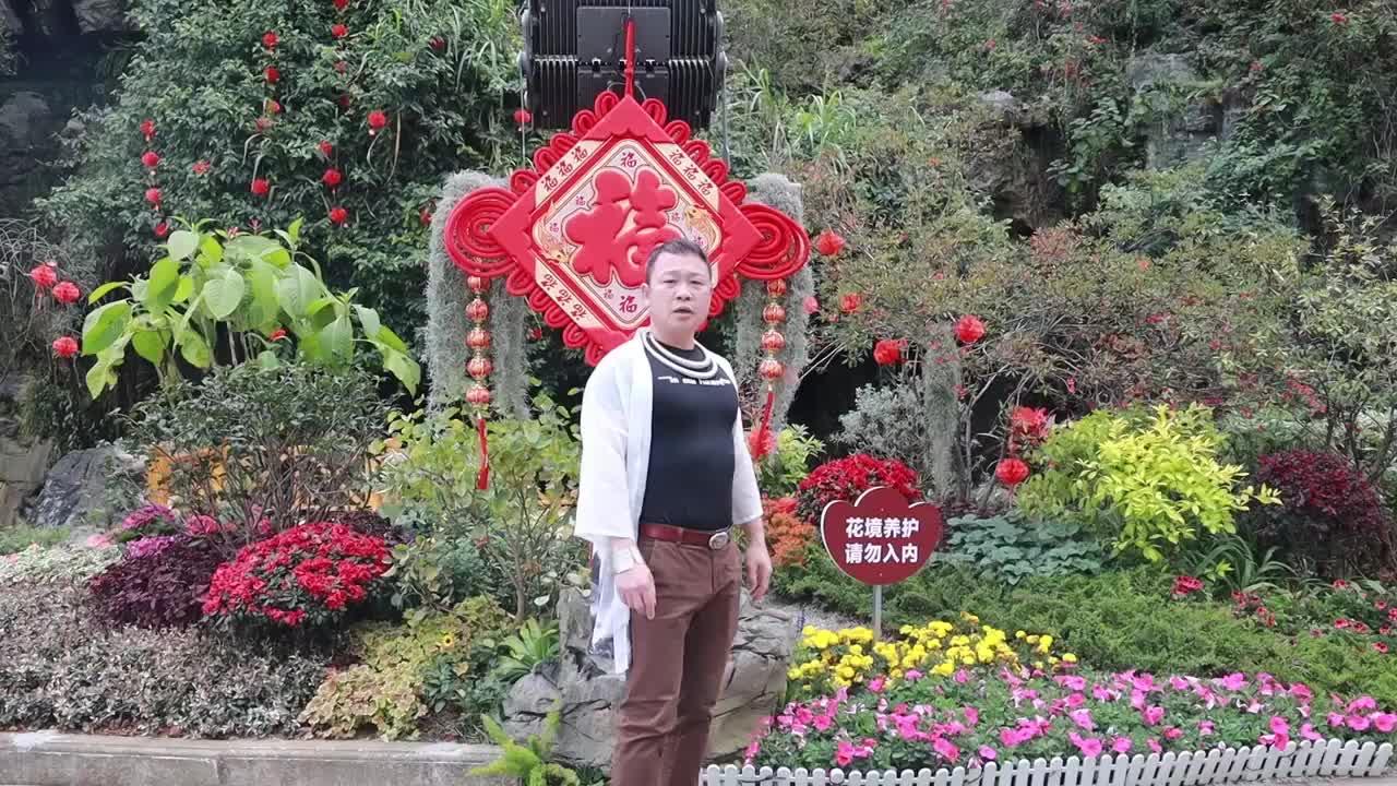 黑龙江鹤岗李先生行动不便后,第二次来到柳州拉手快步走锻炼分享
